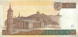 50 Litu LITUANIE  1998 P.61 TTB