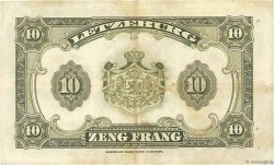 10 Francs LUXEMBOURG  1944 P.44a TTB