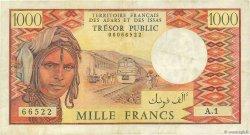 1000 Francs AFARS ET ISSAS  1975 P.34 TTB
