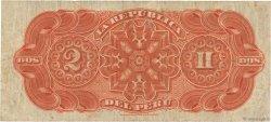 2 Soles PÉROU  1879 P.002 TTB