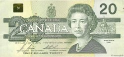 20 Dollars CANADA  1991 P.097b TB