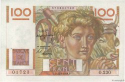 100 Francs JEUNE PAYSAN FRANCE  1948 F.28.17 pr.SPL