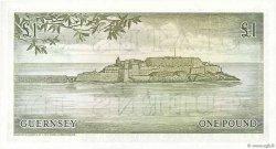 1 Pound GUERNESEY  1969 P.45c NEUF