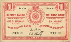 1 Markka FINLANDE  1915 P.016b SUP