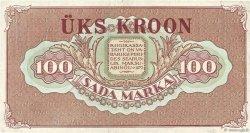 100 Marka ESTONIE  1923 P.61b TTB