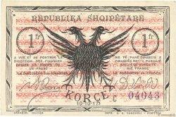 1 Franc ALBANIE  1917 PS.146a SUP