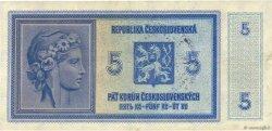 5 Korun BOHÊME ET MORAVIE  1939 P.02a TTB