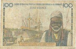 100 Francs type 1956 modifié 1961 AFRIQUE ÉQUATORIALE FRANÇAISE  1961 P.01f TB