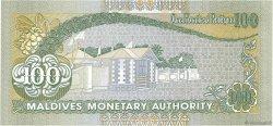 100 Rupees MALDIVES  2000 P.22b NEUF