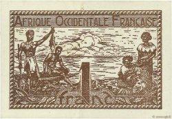 1 Franc AFRIQUE OCCIDENTALE FRANÇAISE (1895-1958)  1944 P.34b SUP