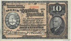 10 Centavos ARGENTINE  1891 P.210 TTB+