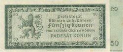 50 Korun BOHÊME ET MORAVIE  1940 P.05a TTB