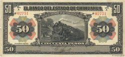 50 Pesos MEXIQUE  1913 PS.0135a TTB
