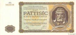 5000 Korun SLOVAQUIE  1944 P.14a NEUF