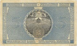 5 Markkaa FINLANDE  1909 P.009a TB