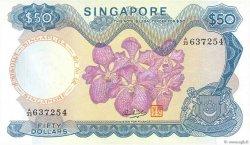 50 Dollars SINGAPOUR  1973 P.05d TTB+