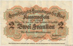 2 Francs LUXEMBOURG  1919 P.28 TB+