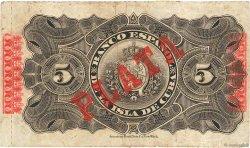5 Pesos CUBA  1896 P.048b TB