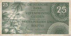 25 Gulden INDES NEERLANDAISES  1946 P.091 TB