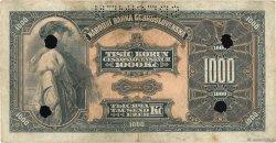 1000 Korun TCHÉCOSLOVAQUIE  1932 P.025s TB