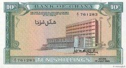 10 Shillings GHANA  1963 P.01d pr.NEUF