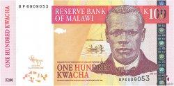 100 Kwacha MALAWI  2009 P.54d NEUF