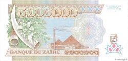 5000000 Zaïres ZAÏRE  1992 P.46a SPL