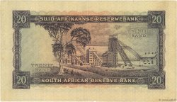 20 Rand AFRIQUE DU SUD  1961 P.108a TTB+