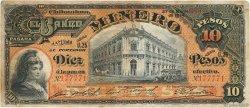 10 Pesos MEXIQUE  1914 PS.0164Ac TTB