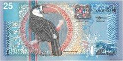 25 Gulden SURINAM  2000 P.148 NEUF