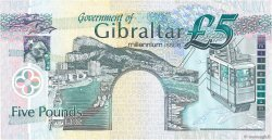 5 Pounds Sterling GIBRALTAR  2000 P.29 NEUF