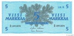 5 Markkaa FINLANDE  1963 P.106Aa NEUF