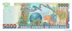 5000 Colones COSTA RICA  1999 P.268A NEUF