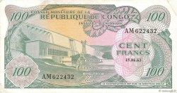 100 Francs CONGO  1963 P.01a TTB