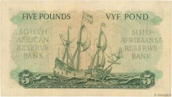 5 Pounds AFRIQUE DU SUD  1956 P.096c SUP