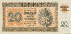 20 Korun SLOVAQUIE  1942 P.07s NEUF
