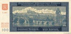 100 Korun BOHÊME ET MORAVIE  1940 P.07a SUP