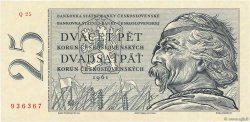 25 Korun TCHÉCOSLOVAQUIE  1961 P.089b NEUF