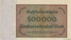 500000 Mark ALLEMAGNE  1923 P.088b pr.SUP