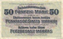 50 Mark ALLEMAGNE  1918 P.R132 TTB