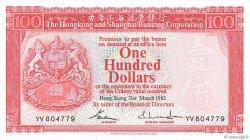100 Dollars HONG KONG  1983 P.187c NEUF