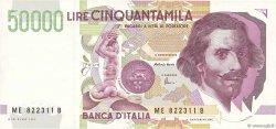 50000 Lires ITALIE  1992 P.116c pr.SPL
