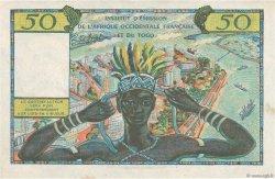50 Francs type 1956 AFRIQUE OCCIDENTALE FRANÇAISE (1895-1958)  1956 P.45 SUP
