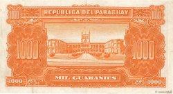 1000 Guaranies PARAGUAY  1952 P.191b