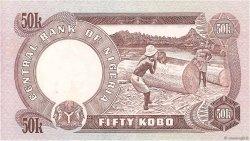 50 Kobo NIGERIA  1973 P.14j NEUF