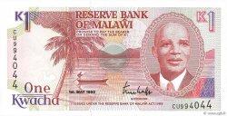 1 Kwacha MALAWI  1992 P.23b NEUF