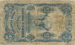 5 Markkaa FINLANDE  1897 P.002 B+