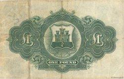 1 Pound GIBRALTAR  1942 P.15b TTB