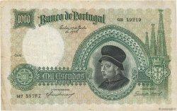 1000 Escudos PORTUGAL  1938 P.152 TB