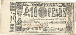 10 Pesos PARAGUAY  1865 P.030 TTB
